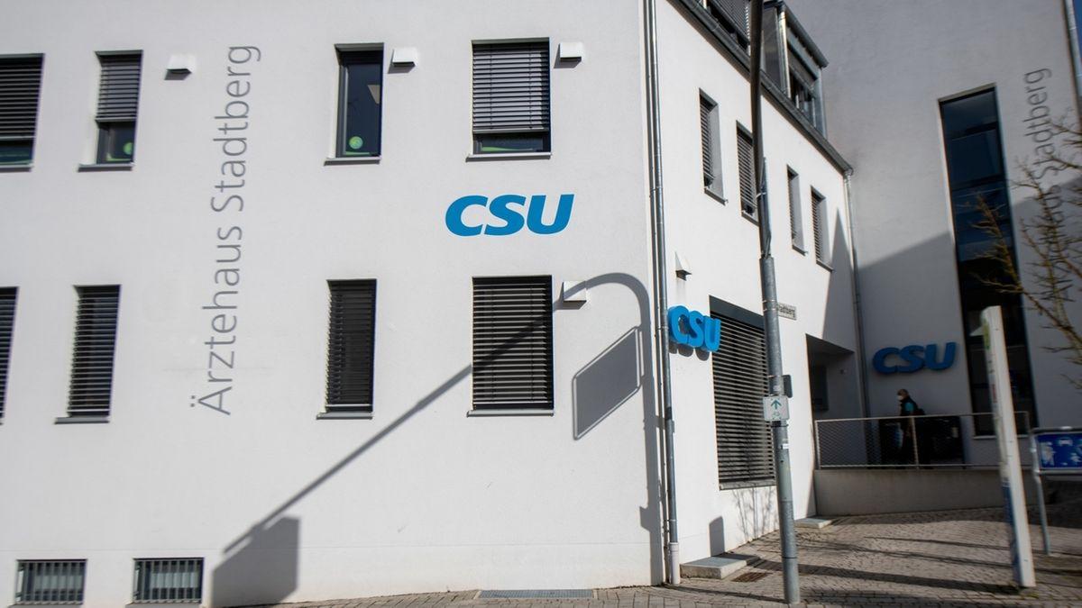 Die Geschäftsstelle der CSU in Günzburg