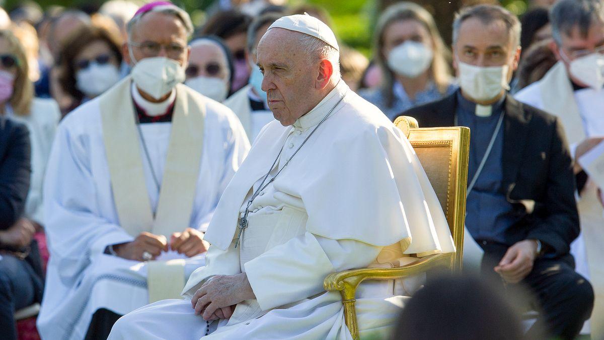Papst Franziskus am Montag, 31.05.2021, im Vatikan