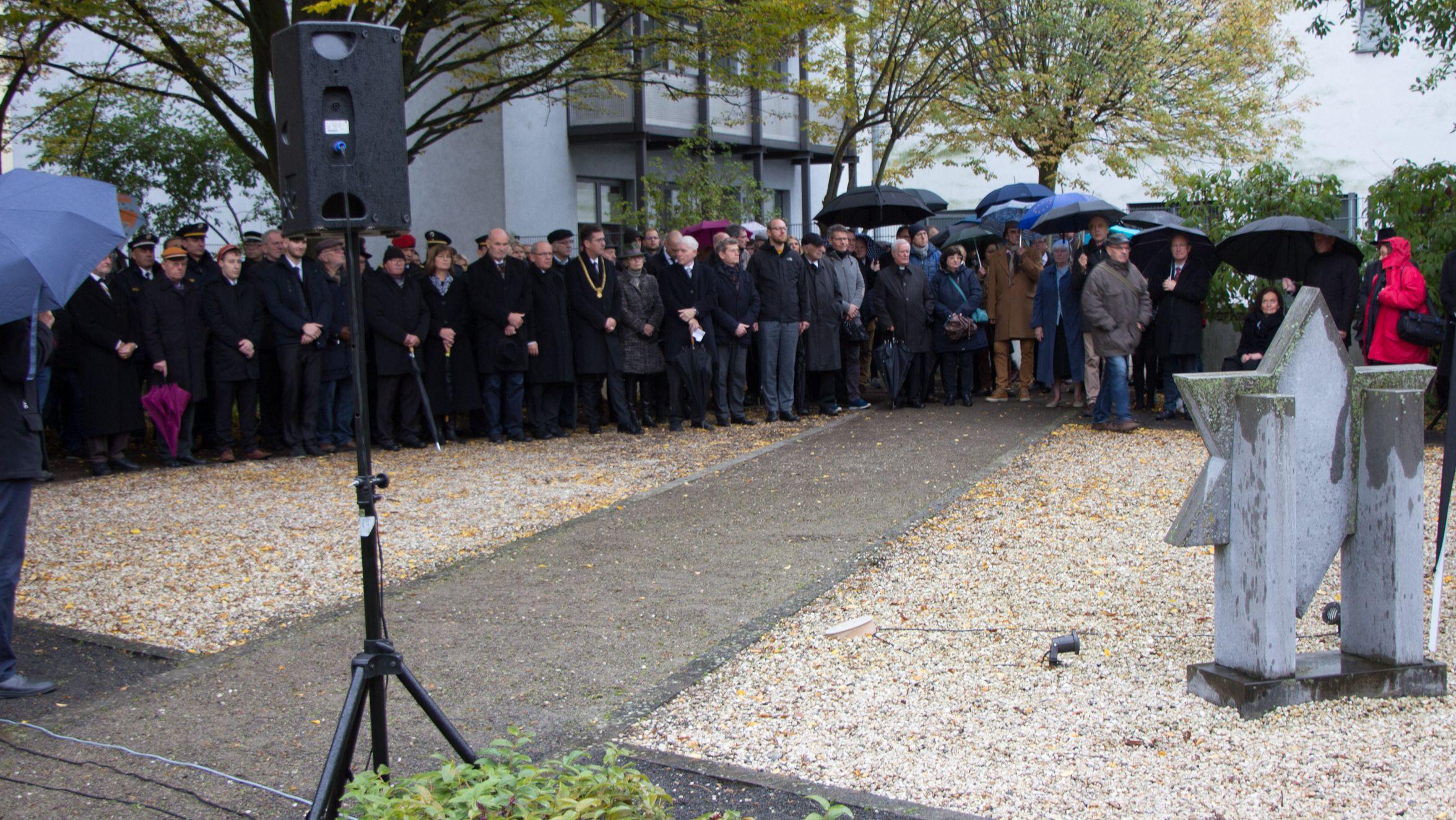 Gedenken an die Pogromnacht 1938 in Würzburg