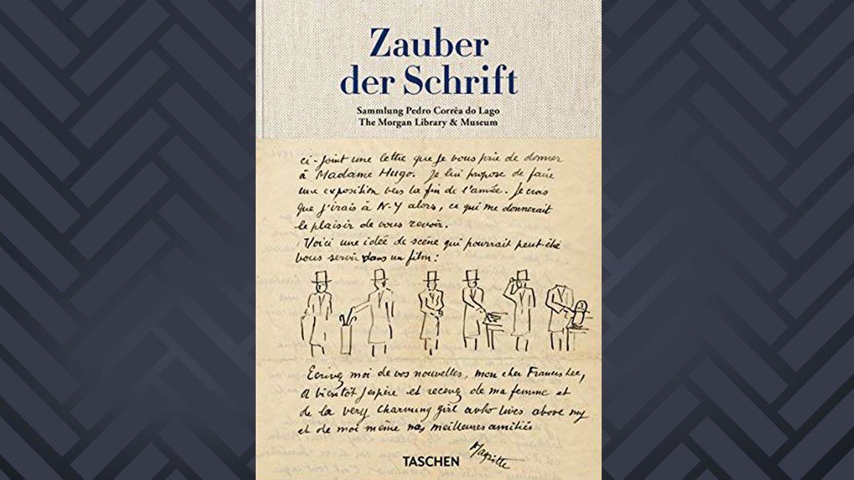 "Cover: Pedro Correa do Lago: ""Zauber der Schrift"""