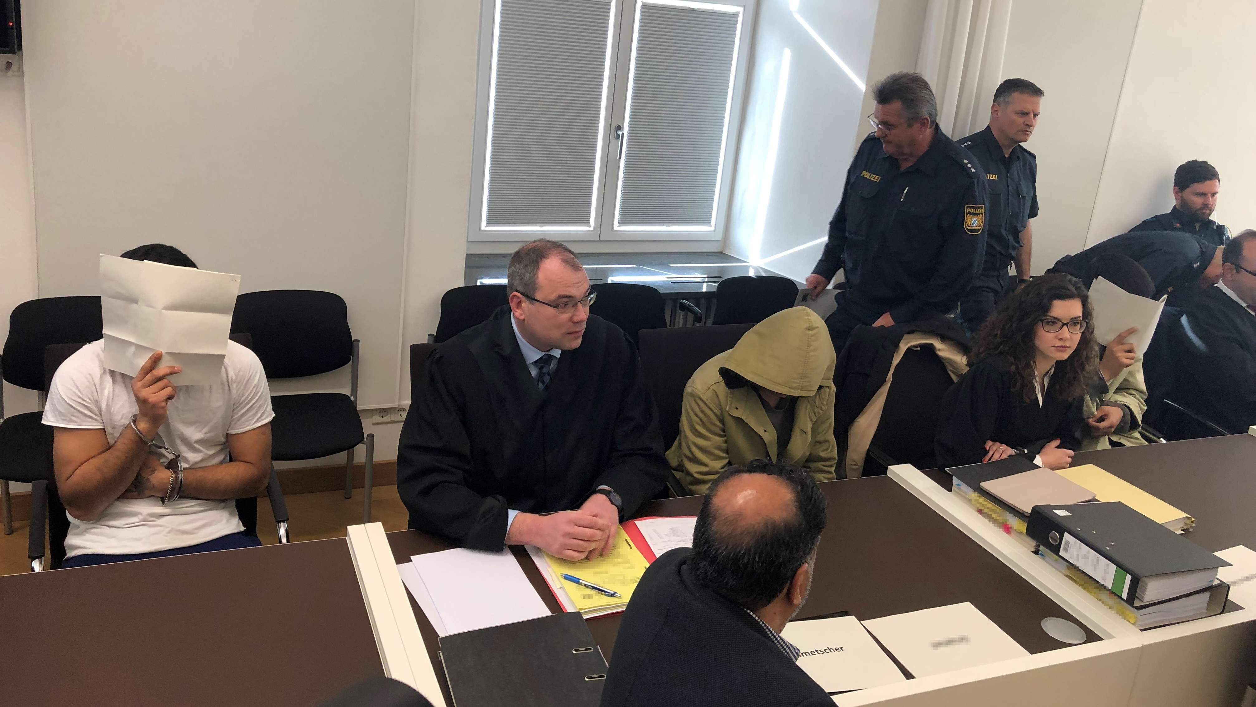 Prozessauftakt am Amtsgericht Amberg.