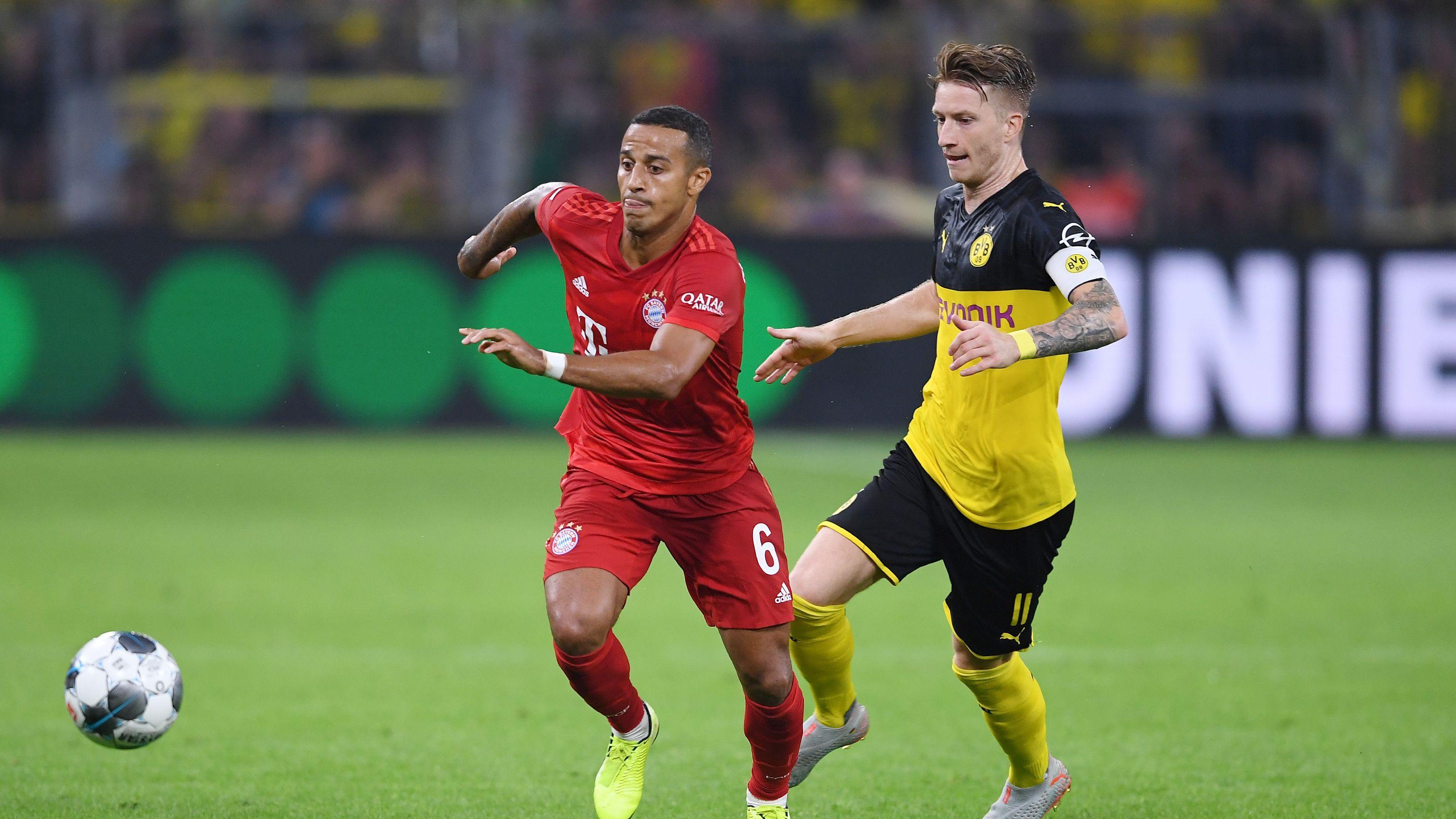 Spielszene Dortmund - Bayern