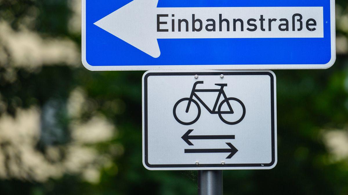 Symbolbild Einbahnstraße