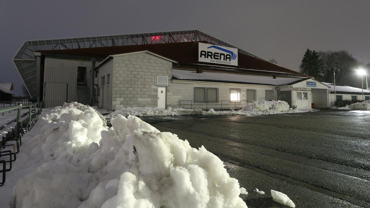 Die Eissporthalle in Bad Wörishofen