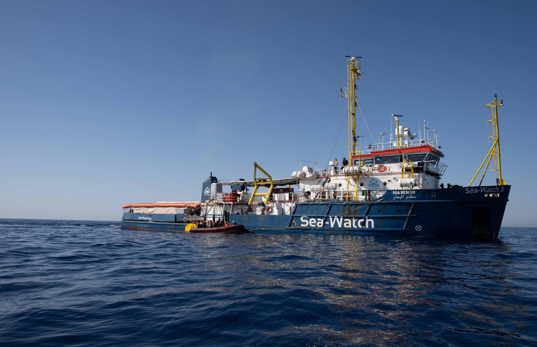Deutsches Rettungsschiff
