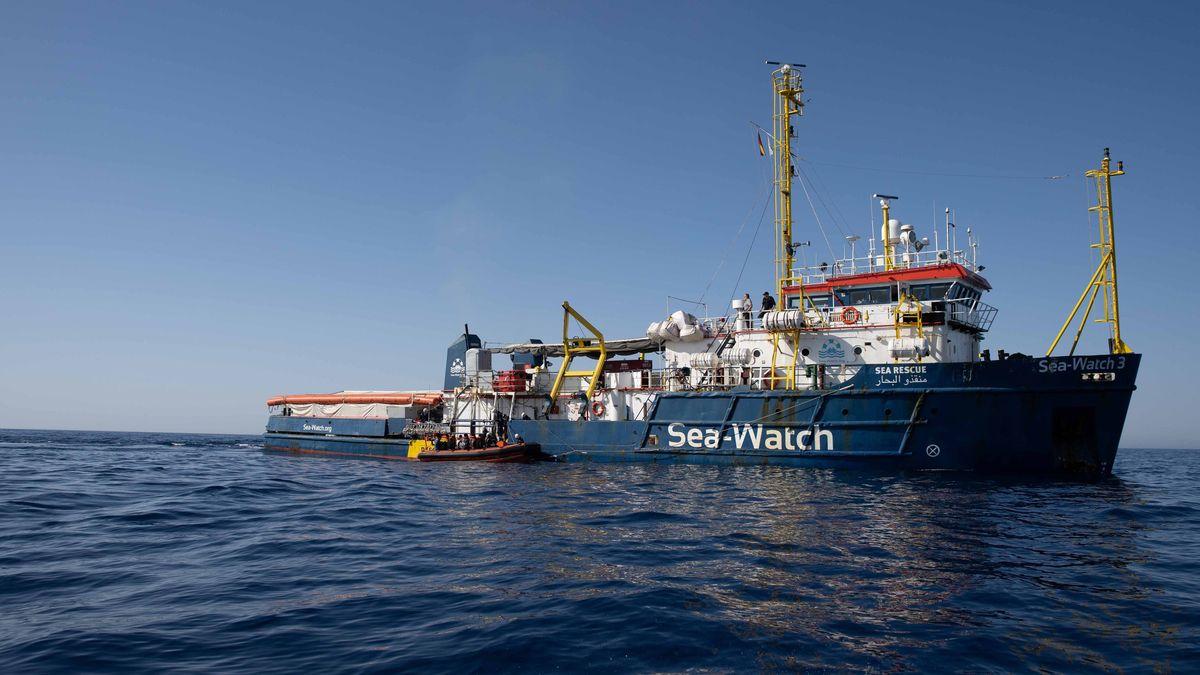 """Das Rettungsschiff """"Sea-Watch 3"""""""