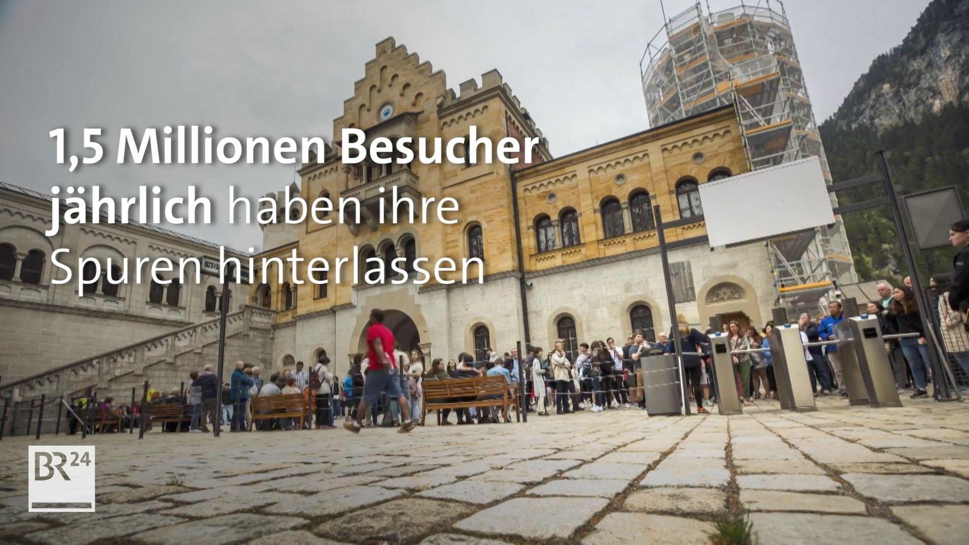 Schloss Neuschwanstein Wie Touristenmassen die Kunst gefährden