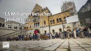 Schloss Neuschwanstein Wie Touristenmassen die Kunst gefährden | Bild:BR