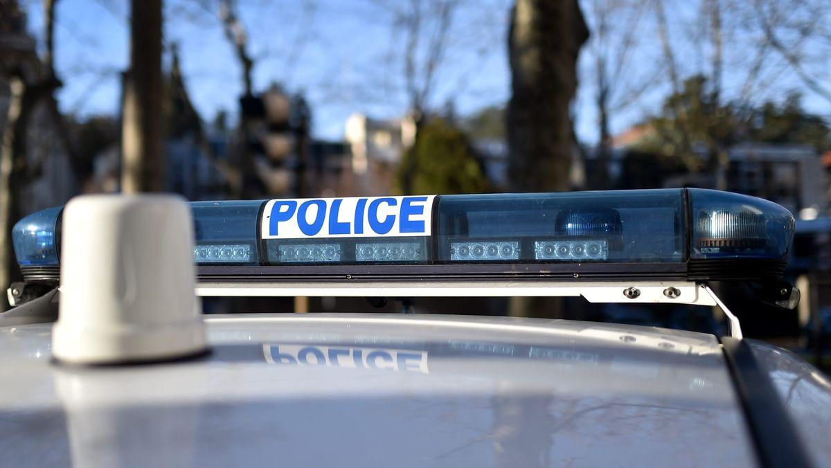 Französisches Polizeiauto (Symbolbild)