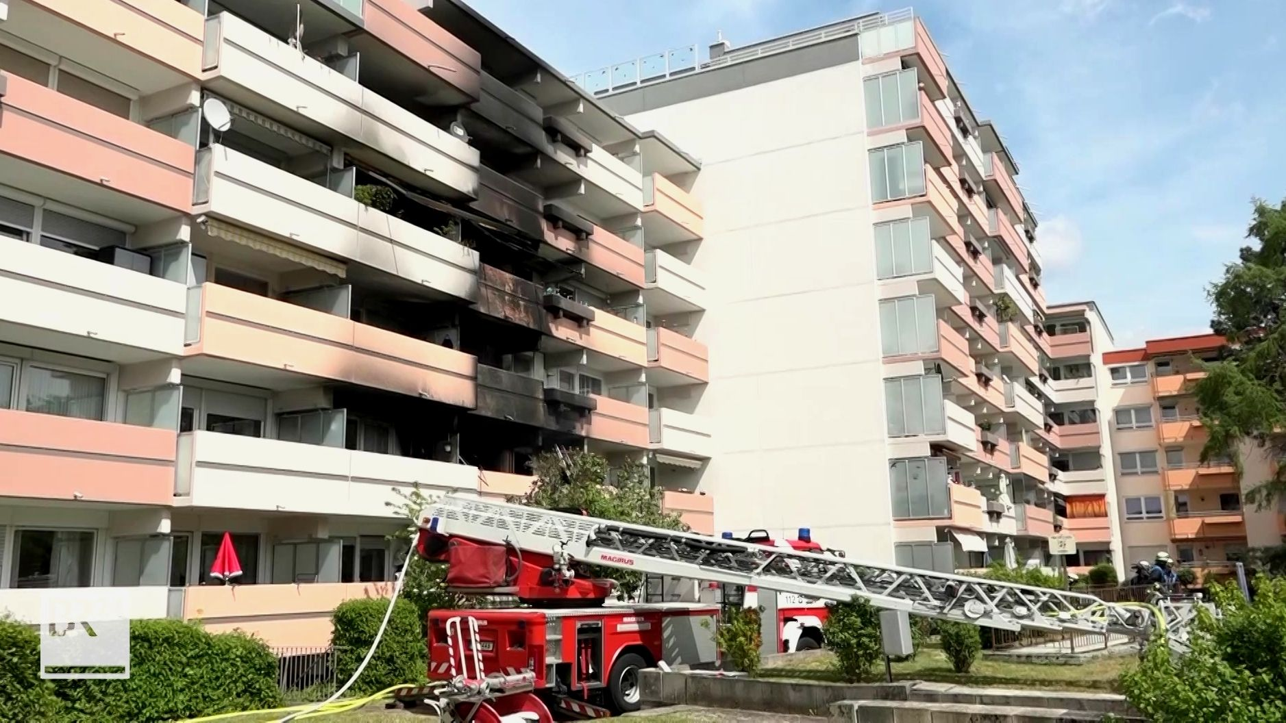 Wohnungsbrand in Nürnberg