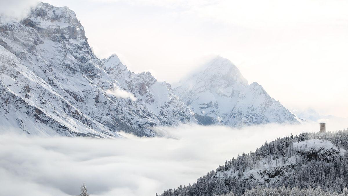 Nebel in Cortina  d'Ampezzo