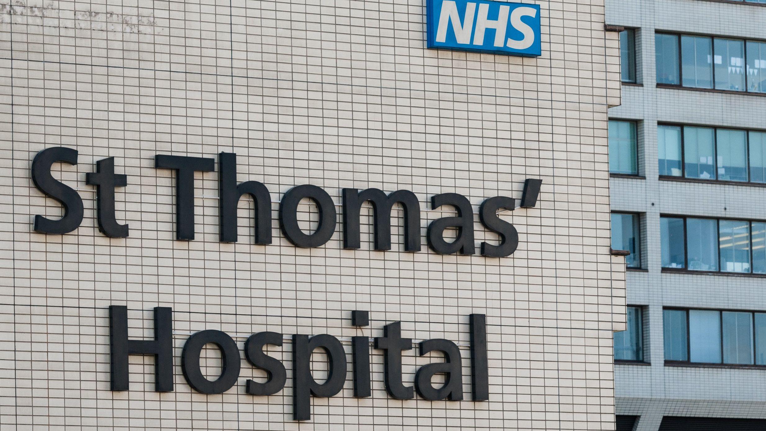 St. Thomas Hospital in London