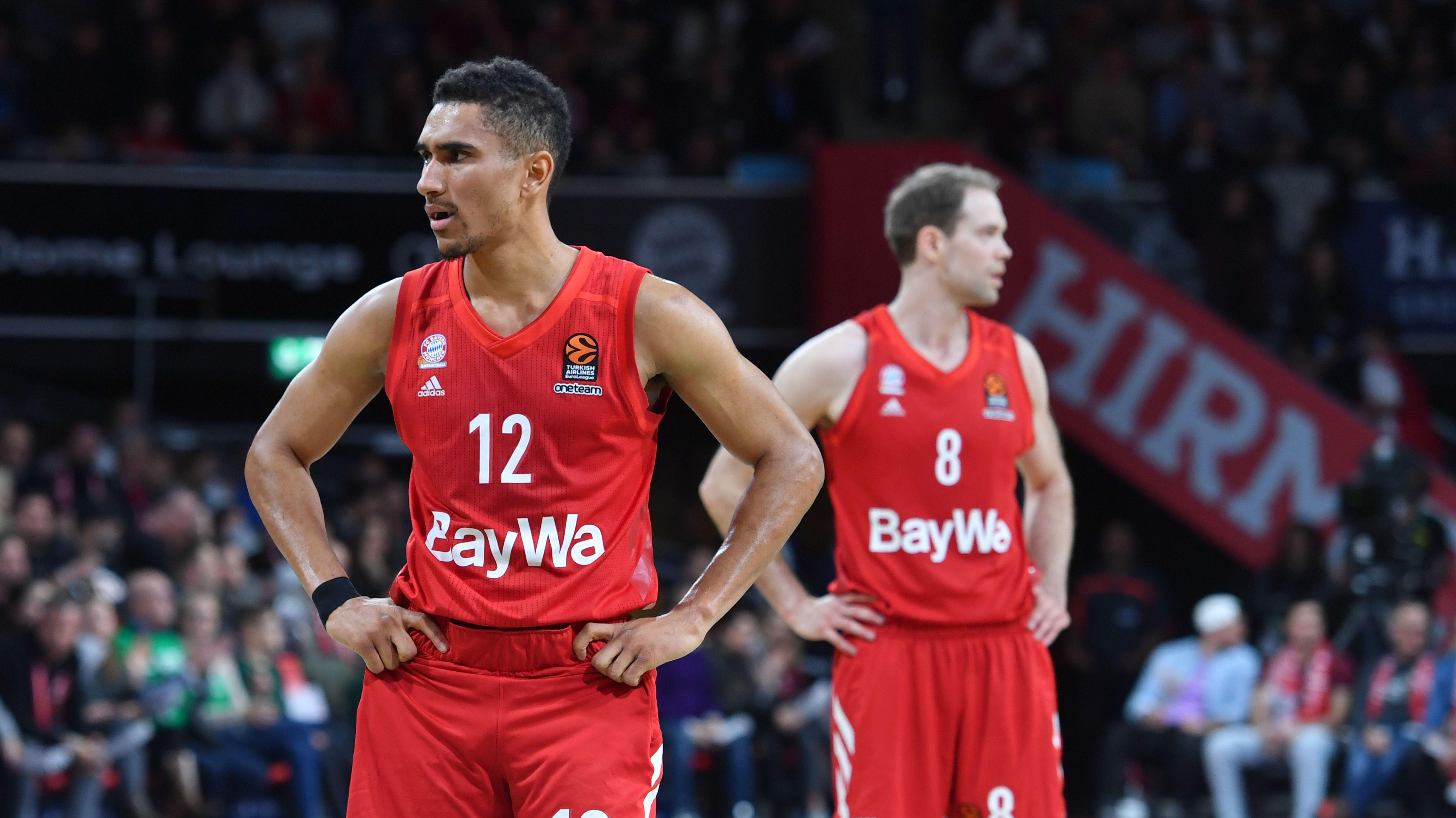 Enttäuschte Bayern-Basketballer: Maodo Lo und Petteri Koponen