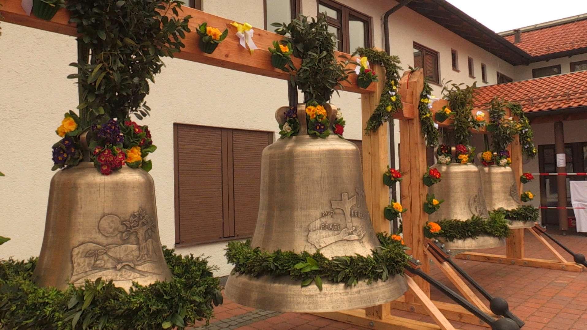 35 Jahre lang war der Kirchturm von St. Philippus im Münchner Stadtteil Laim ohne Glocken.