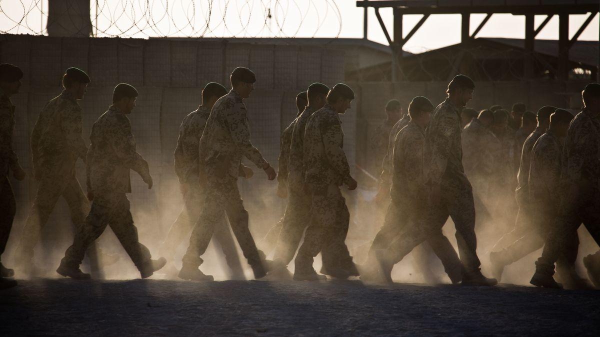 Bundeswehrsoldaten 2013 im afghanischen Kundus (Symbolbild).