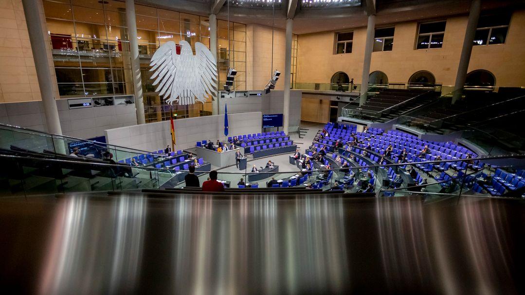 Deutscher Bundestag (Symbolbild)