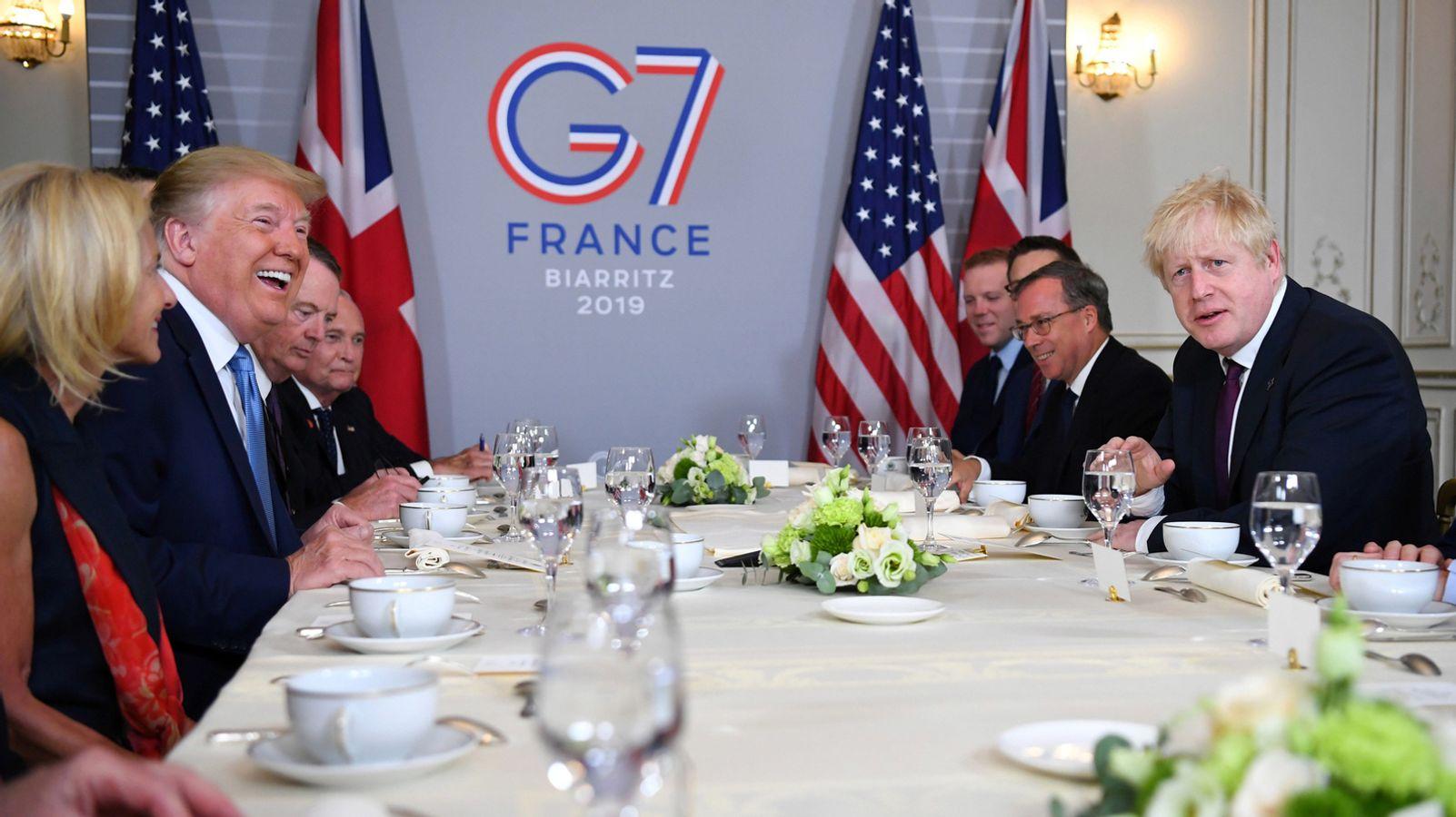G7 treffen 2020 kosten