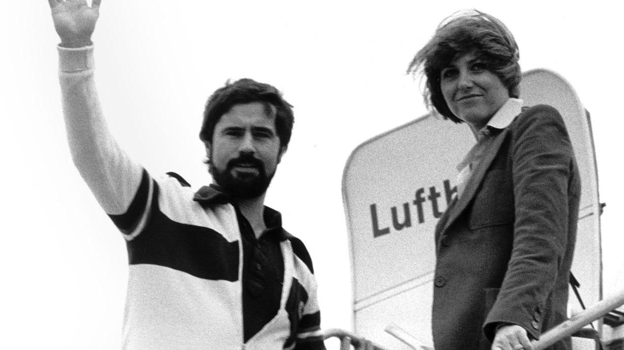 Gerd Müller mit Eherfrau Uschi