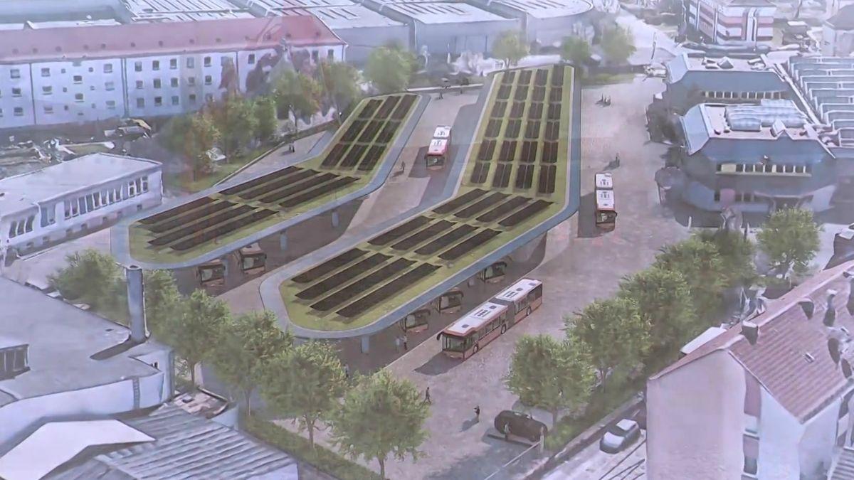 Visualisierung des E-Bus-Ports
