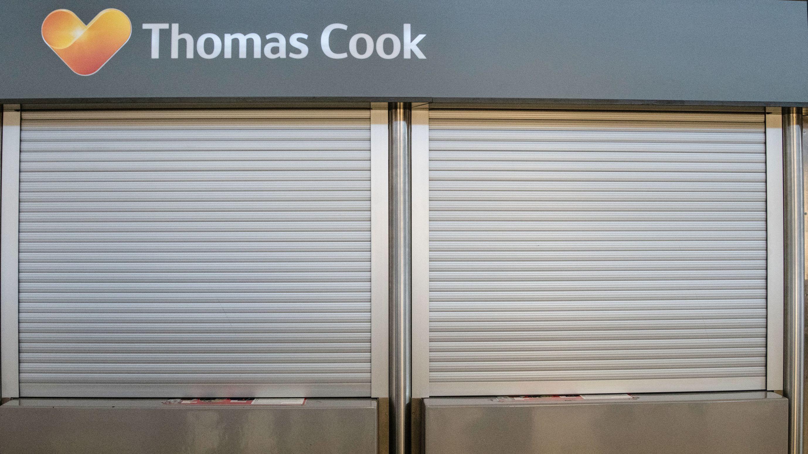 Geschlossener Schalter von Thomas Cook
