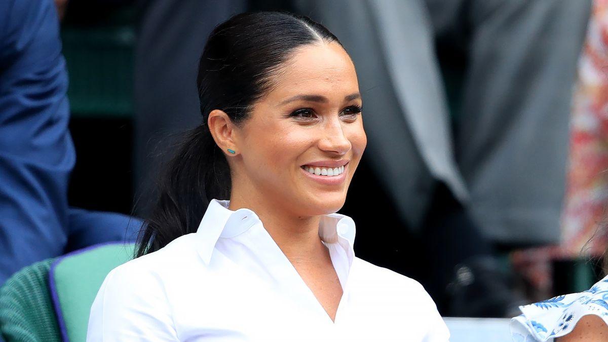 Meghan, Herzogin von Sussex in Wimbledon.