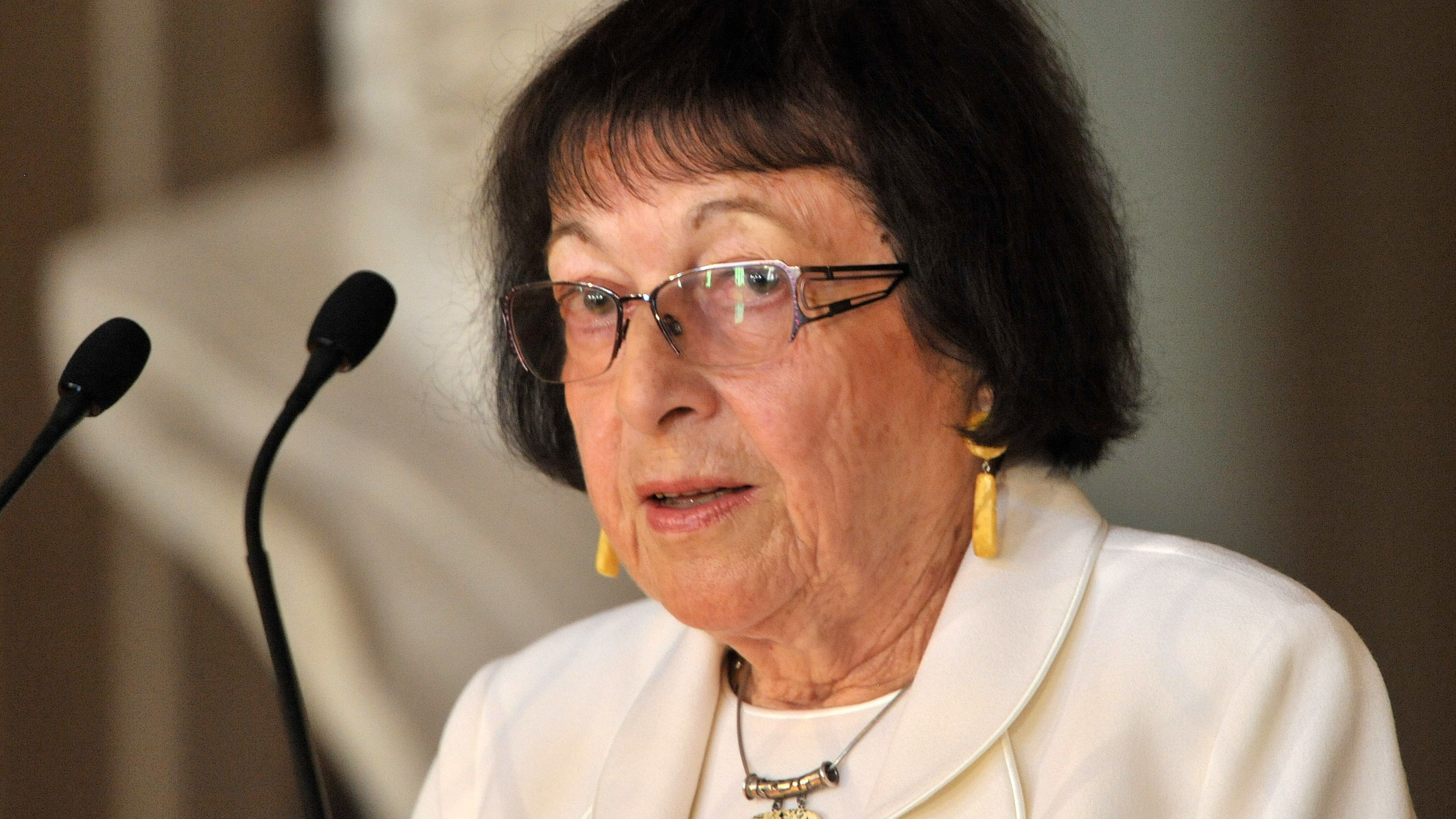 Trägerin der Goethemedaille 2012