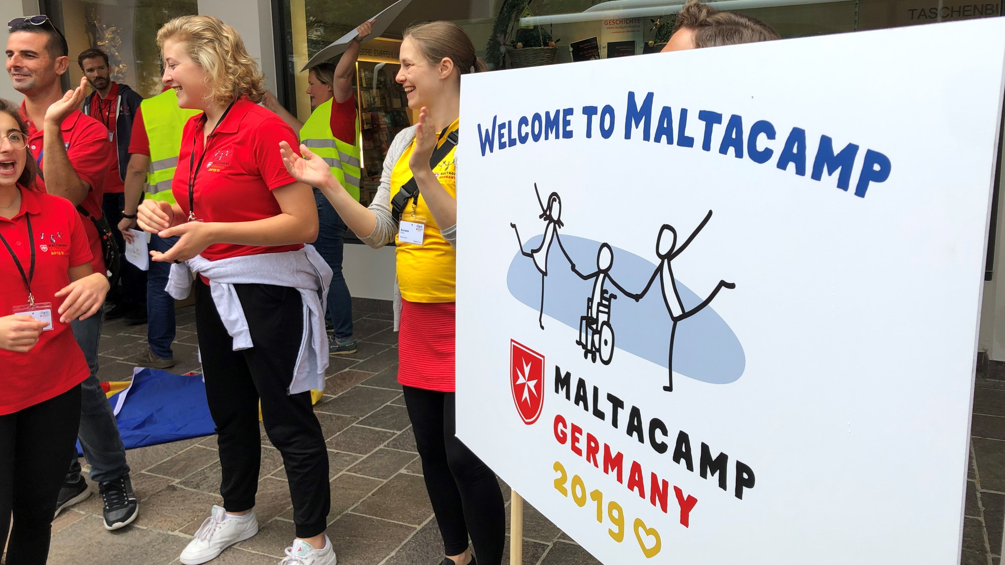 Sommercamp für Behinderte und Nicht-Behinderte im Kloster Ettal