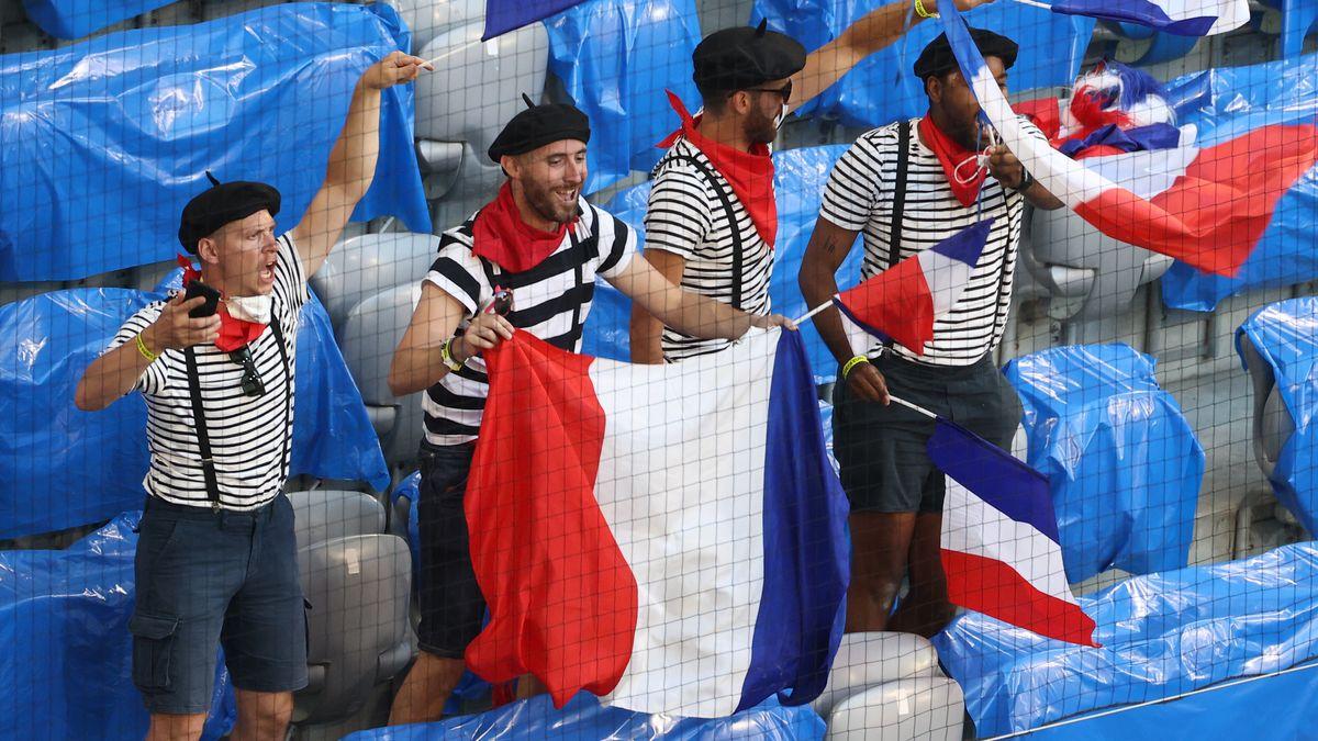 Nicht nur die französischen Fans feierten ohne Maske