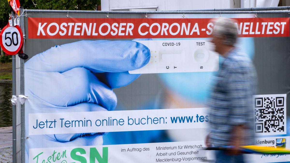 Testzentrum in Mecklenburg-Vorpommern