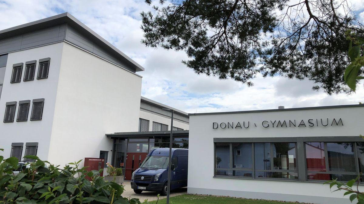 Das Donau-Gymnasium in Kelheim