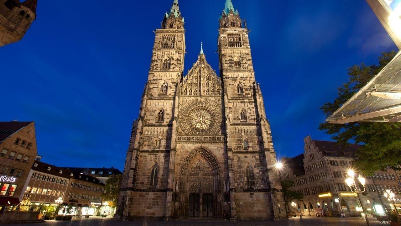 Die Nürnberger Lorenzkirche