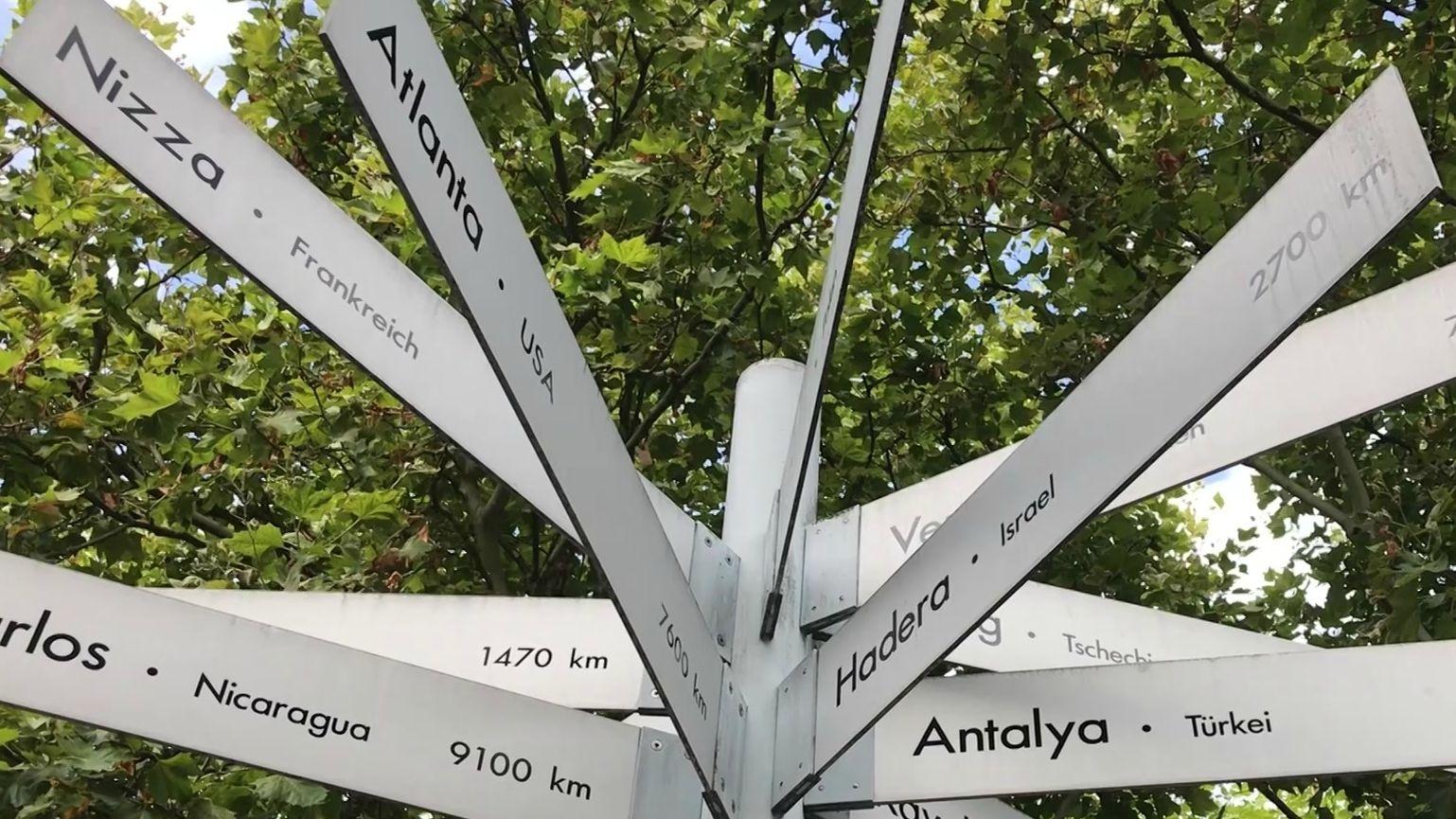 14 Partnerstädte hat die Stadt Nürnberg - so viele wie kaum eine andere deutsche Stadt
