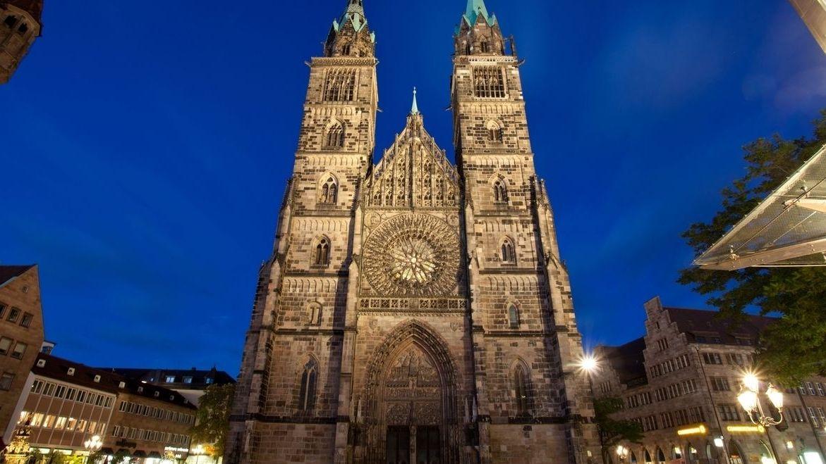 Die Lorenzkirche in Nürnberg.