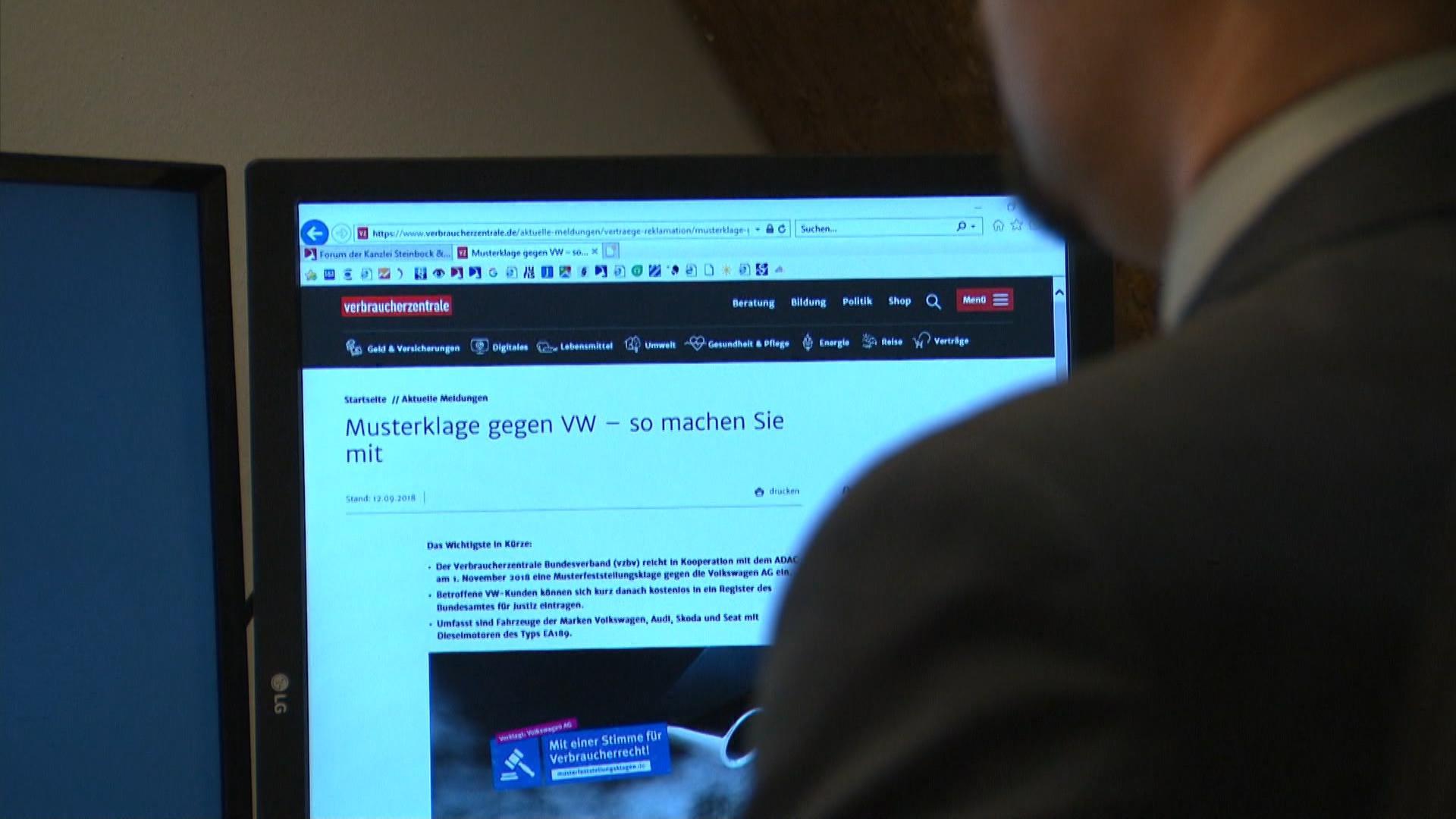 Diesel Skandal Betrogene Vw Besitzer Können Gemeinsam Klagen