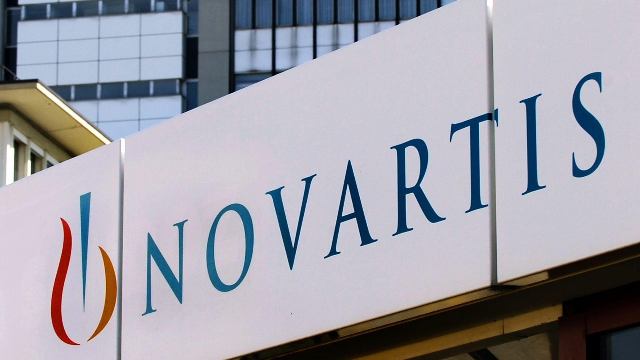 Logo des Pharmakonzerns Novartis