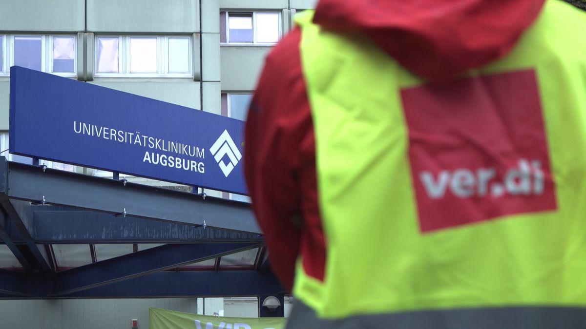 Warnstreiks an der Uniklinik Augsburg