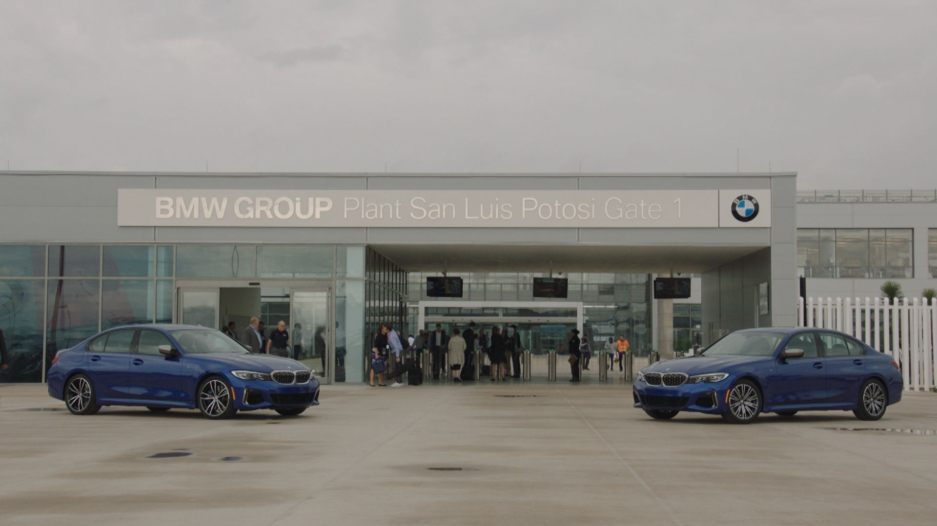 Das neue BMW-Werk in San Luis Potosí.