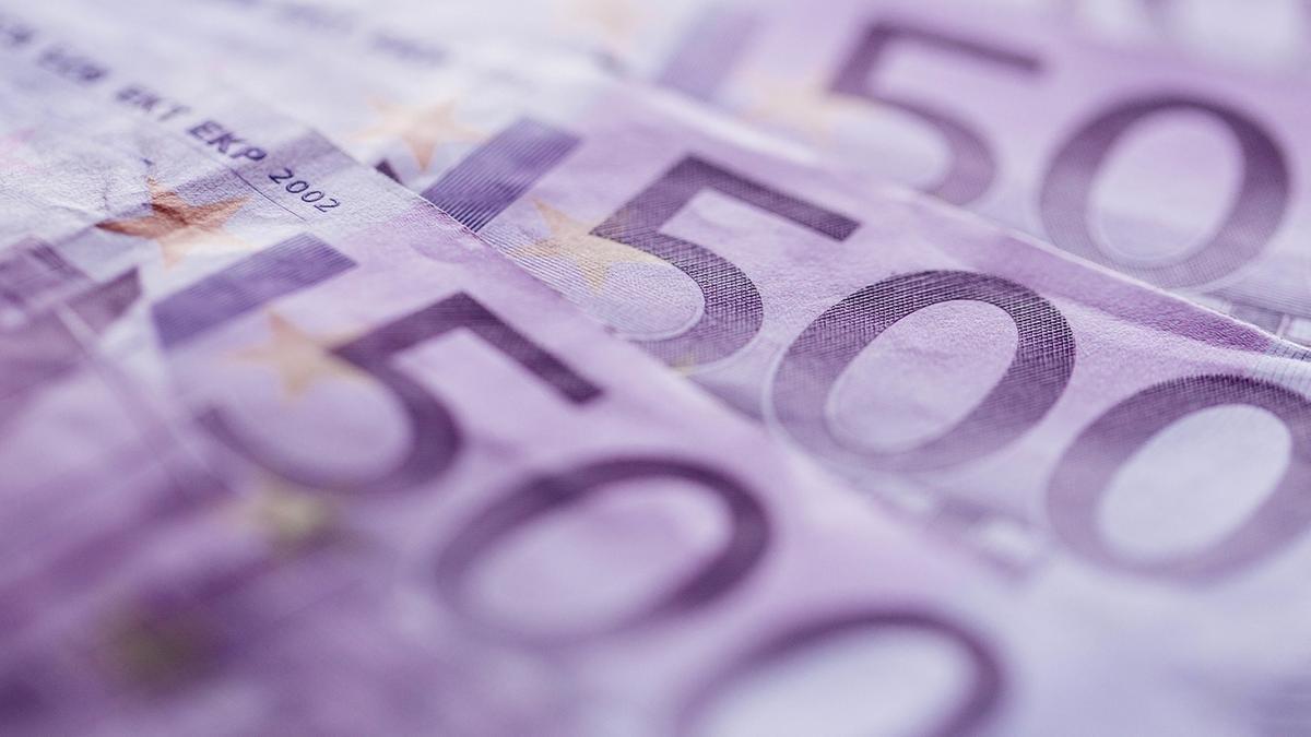 Drei 500-Euro-Scheine