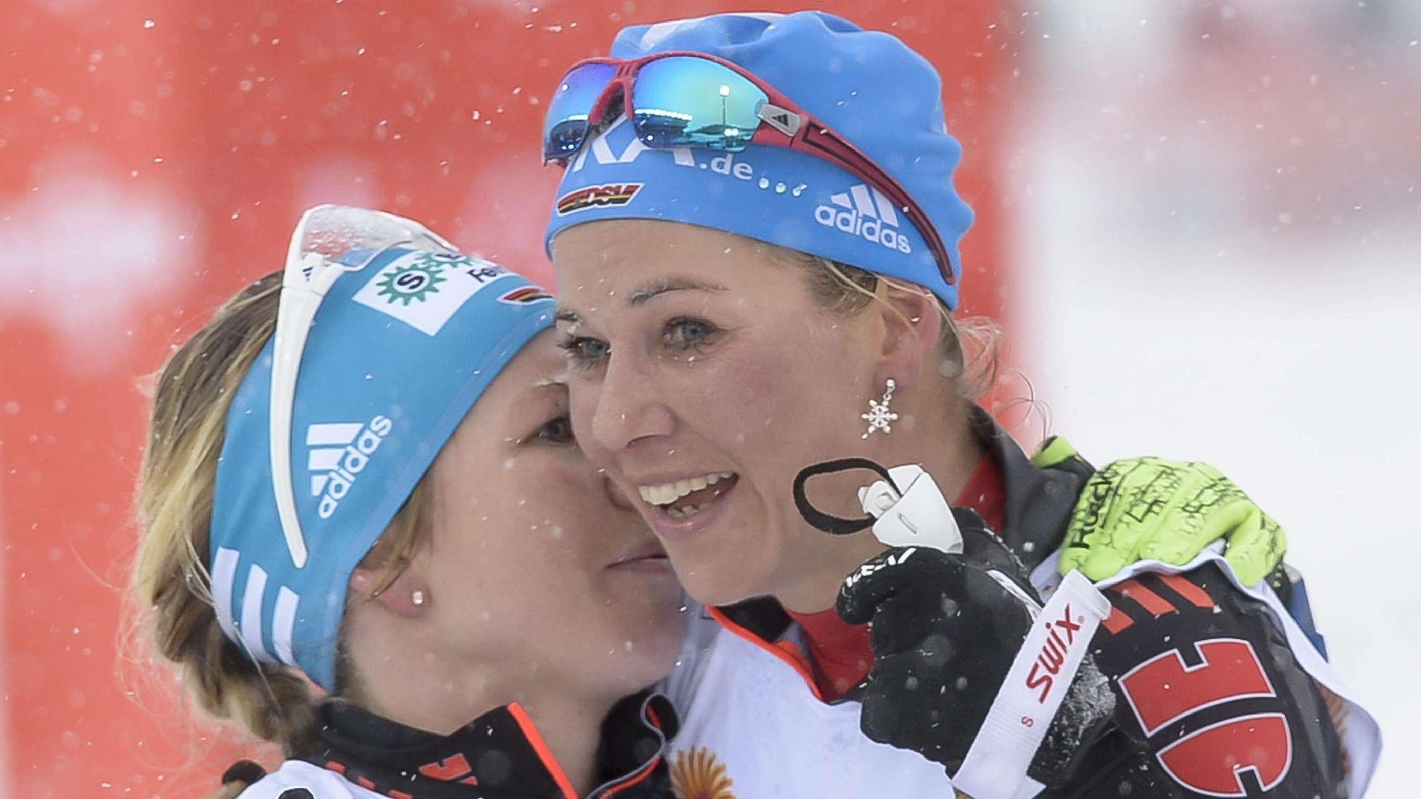 Sandra Ringwald (li.) und Steffi Böhler