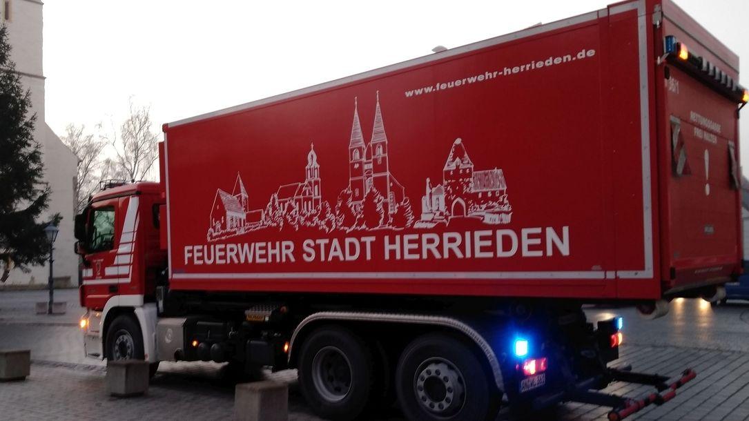 Feuerwehrauto der Stadt Herrieden