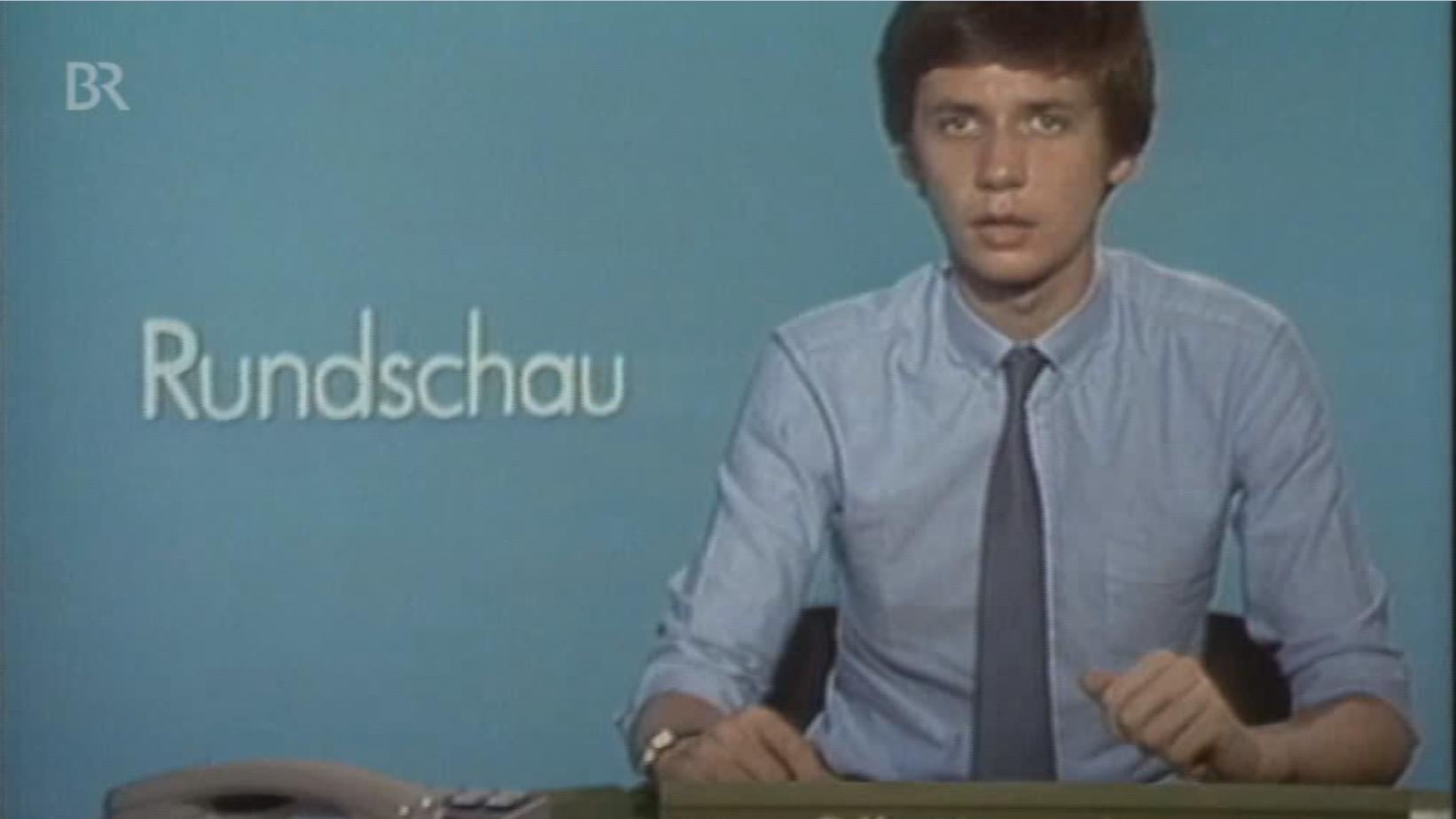 Günther Jauch als Rundschau-Moderator