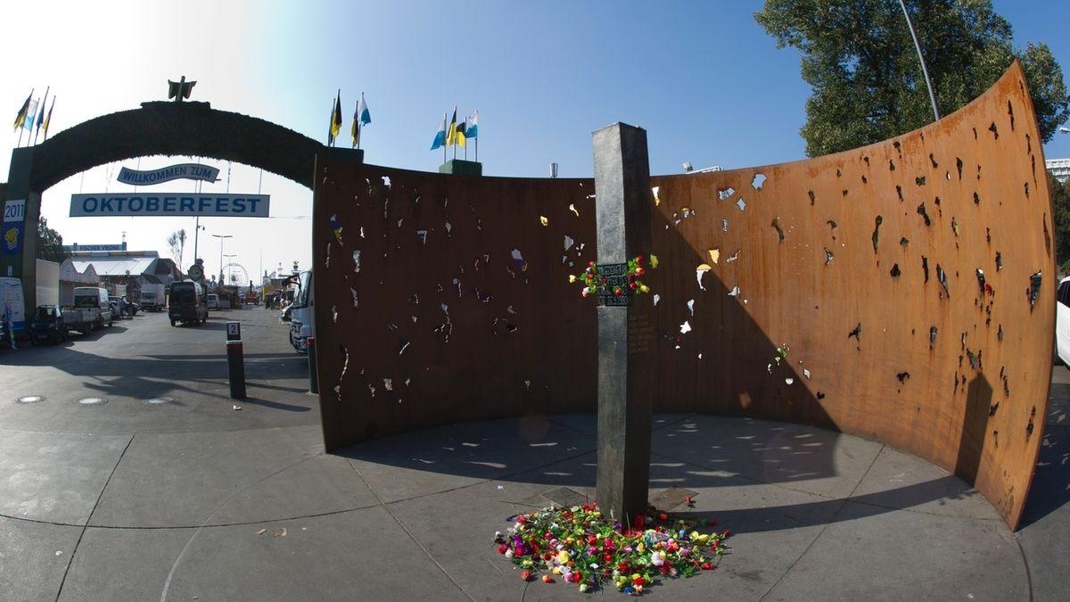 Denkmal des Oktoberfest-Attentats