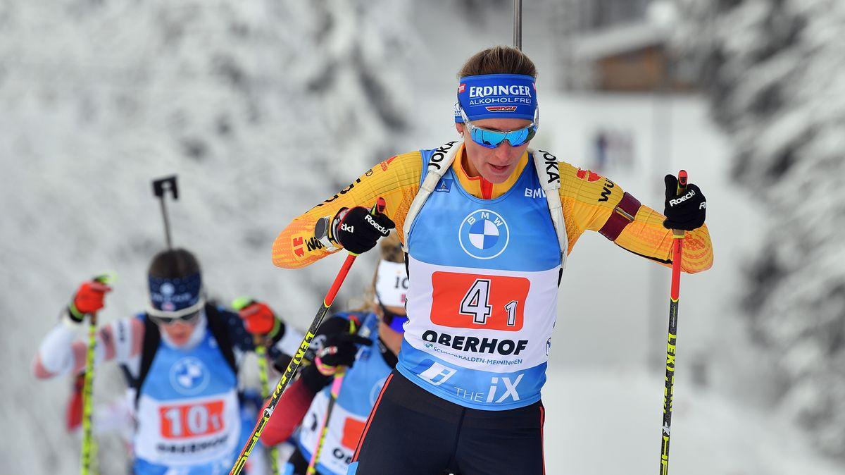 Vanessa Hinz brachte das deutsche Team als Auftaktläuferin auf Kurs