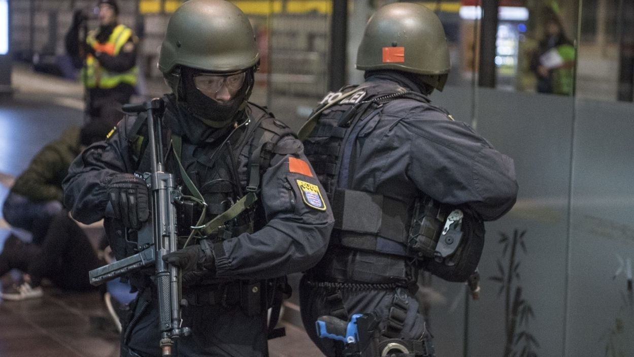 Polizei probt Anti-Terror-Einsatz