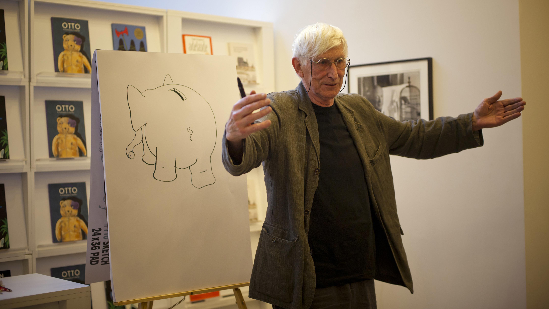 Tomi Ungerer im Juni 2011 bei einer Autorengespräch in Soho, New York