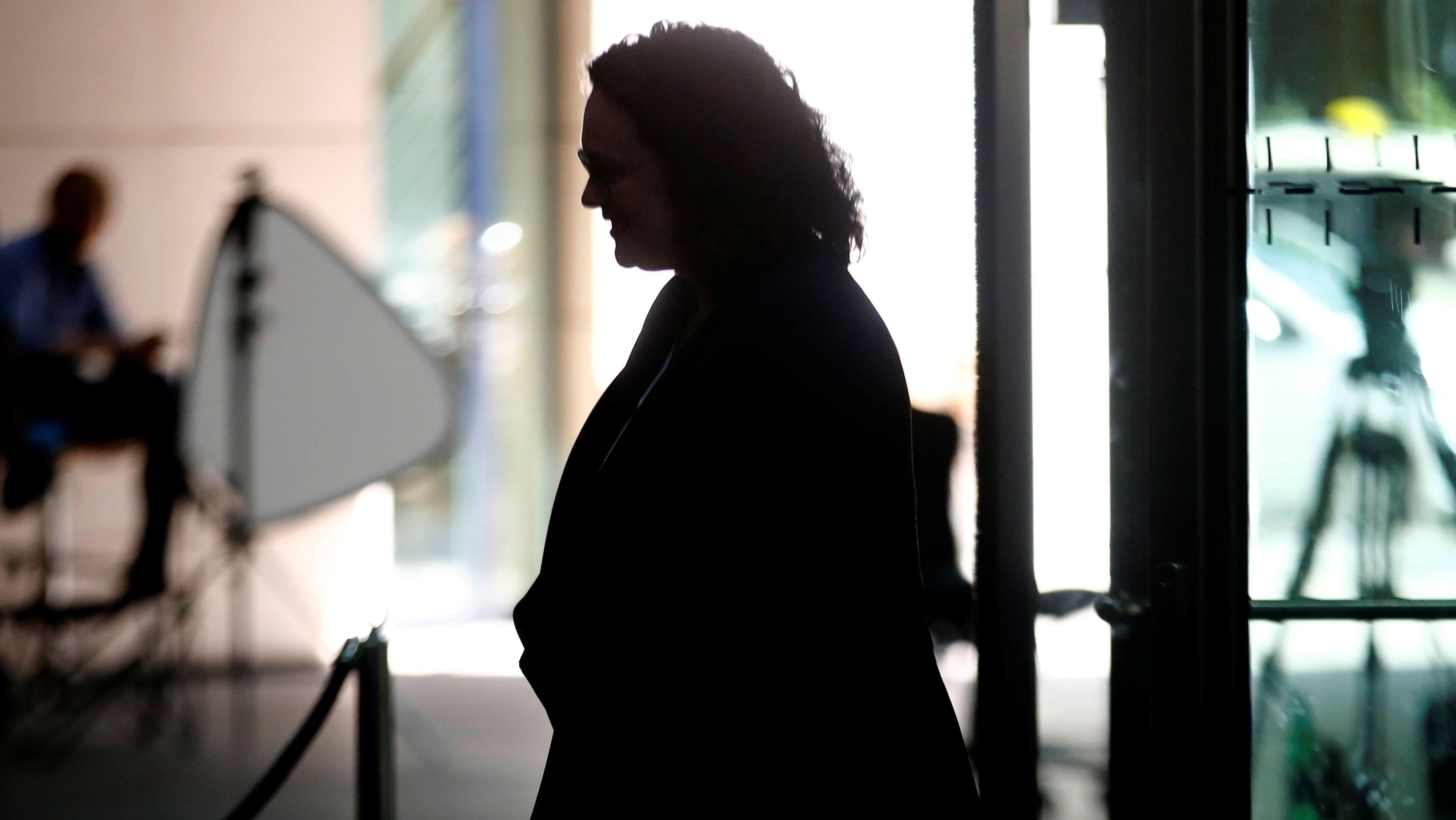 Andrea Nahles nimmt Abschied von der SPD-Zentrale