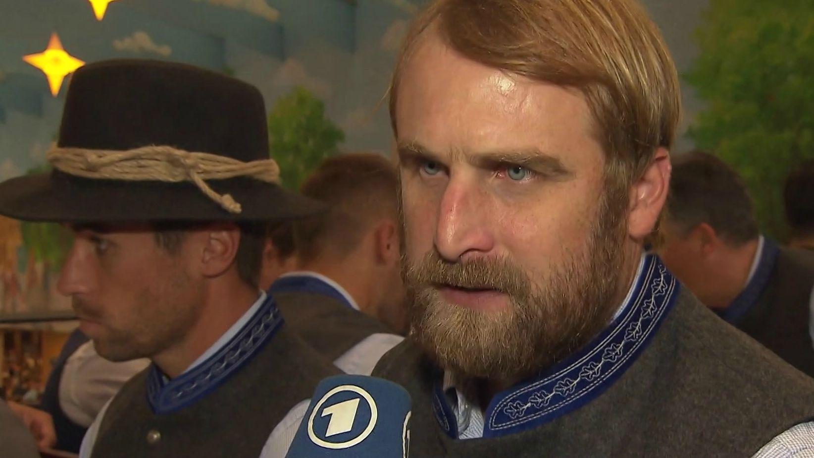 Trainer Daniel Bierofka vom TSV 1860 München