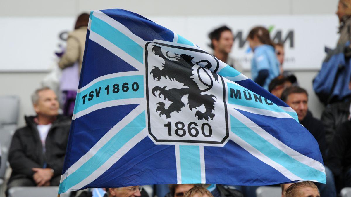 Fahne des TSV 1860 München