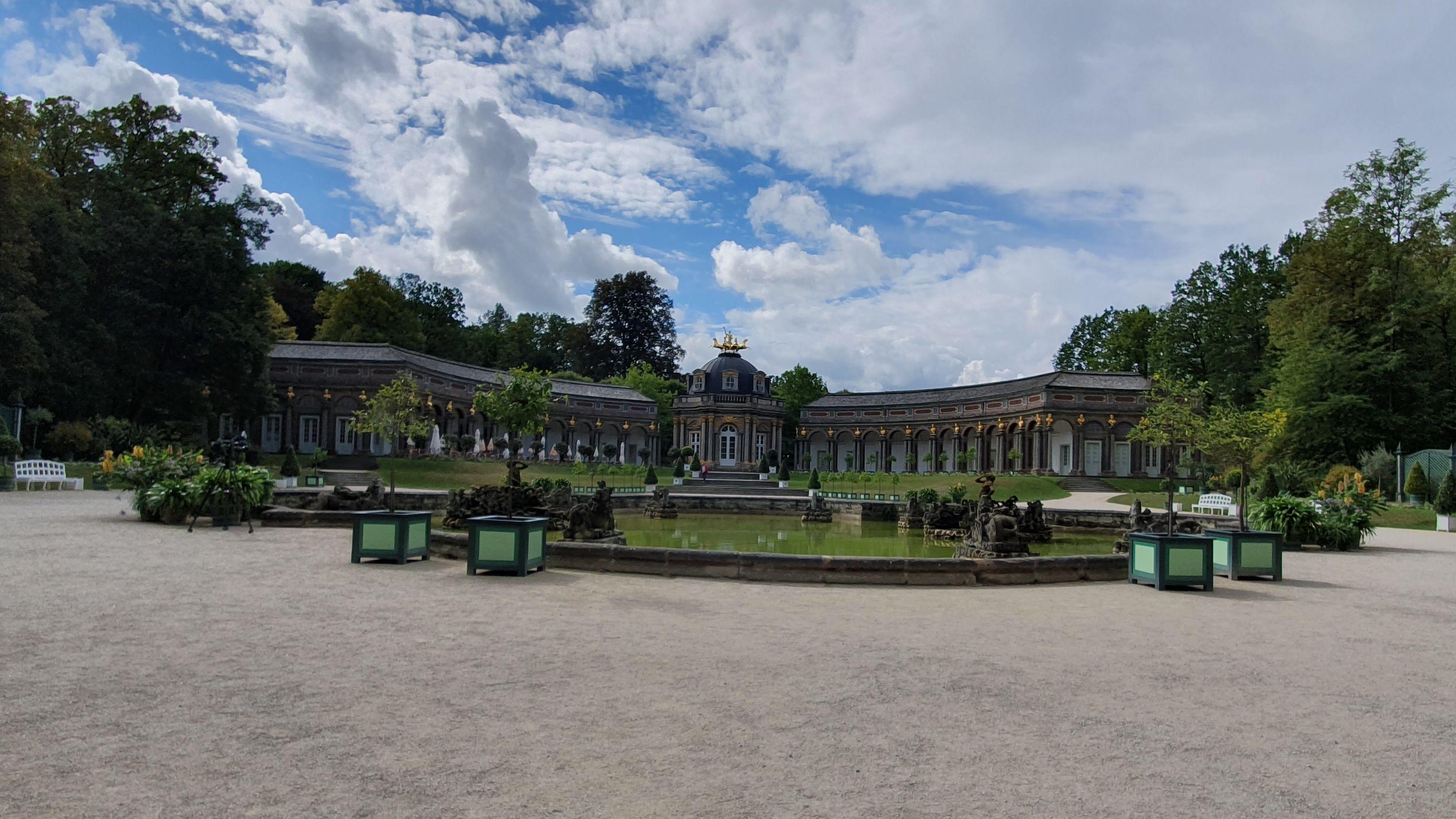 Neues Schloss, Eremitage in Bayreuth