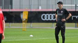 FCI-Coach Roberto Pätzold beim Trainingsauftakt | Bild:dpa-Bildfunk/Armin Weigel